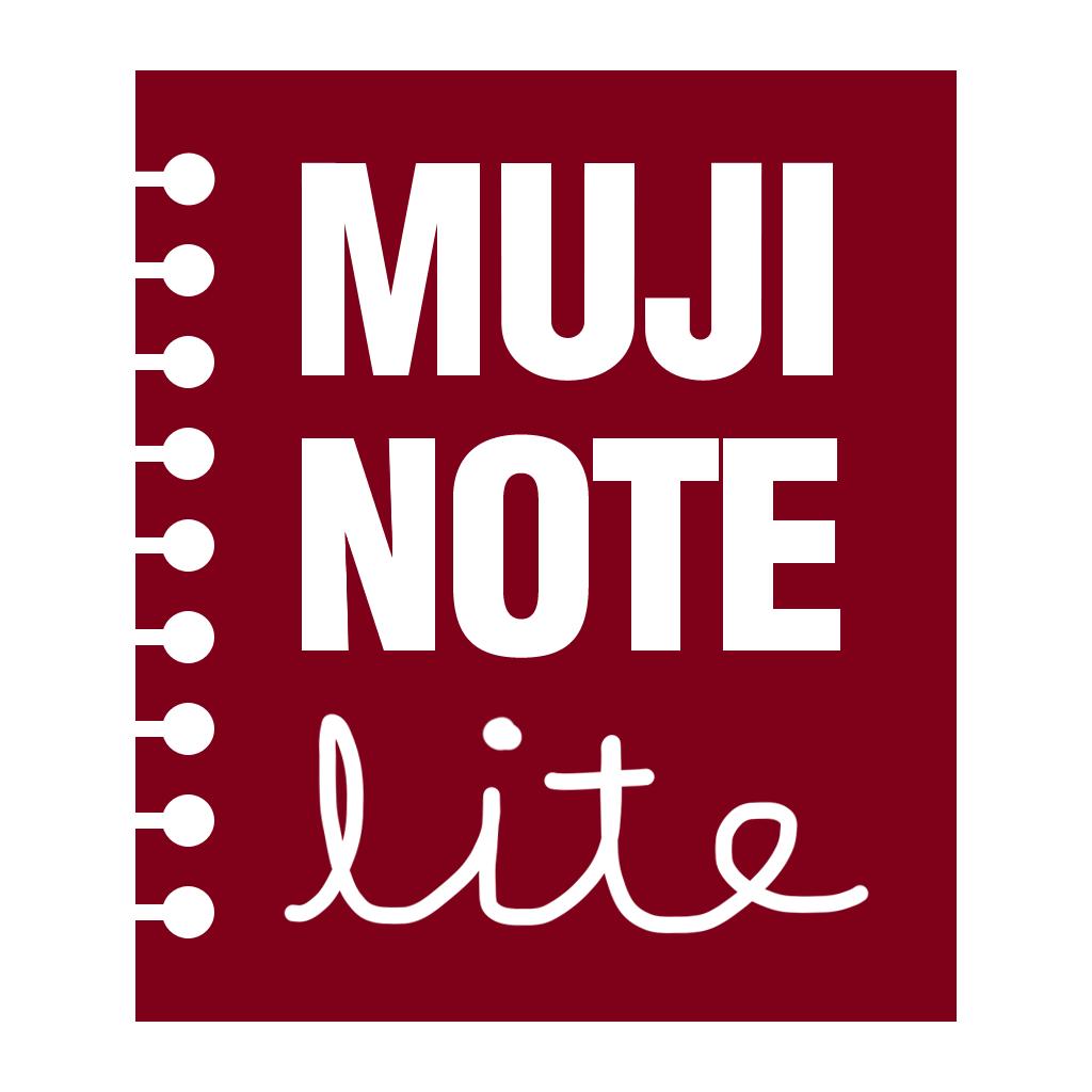 MUJI NOTEBOOK Lite for iPhone